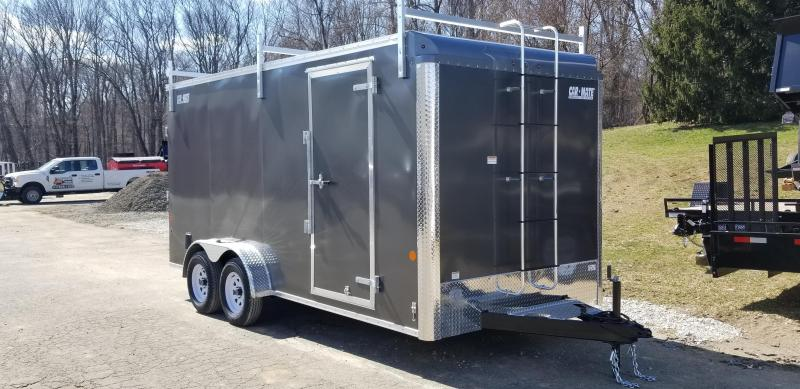 Car-Mate 7 x 16 Contractor Cargo Trailer 7k
