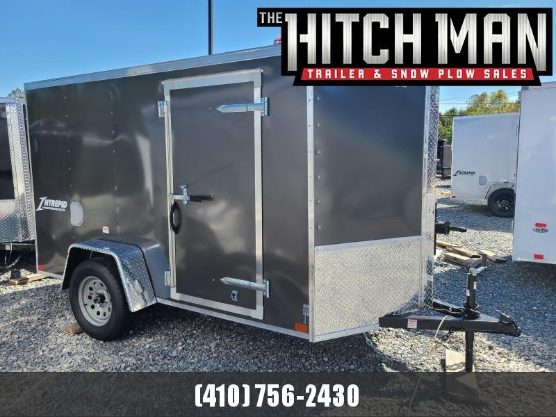 5 x 10 Homesteader Intrepid V Nose Enclosed Cargo Trailer 3k  **Charcoal w/ Ramp Door Pkg.