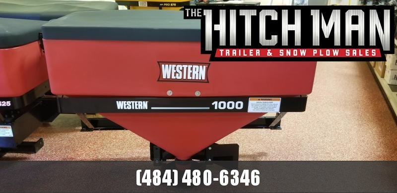 Western Low Pro 1000 Salt Spreader