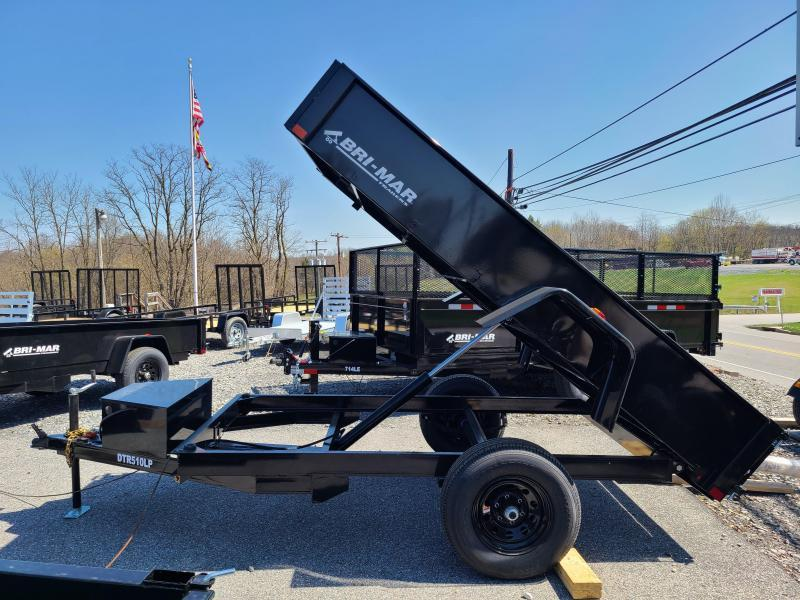 5 X 10 Bri-Mar R Series Low Pro Dump Trailer 5K