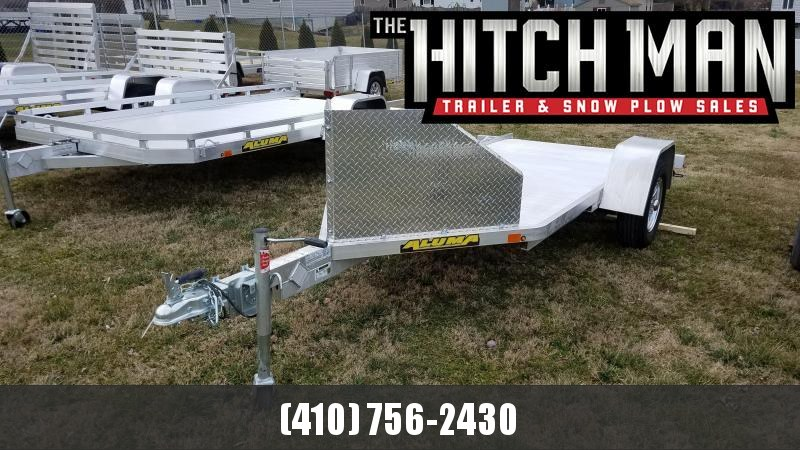 "4'3"" x 10'5"" Aluma MC10 Aluminum Single Motorcycle Trailer 3K"