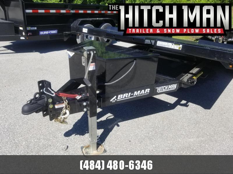 7 x 18 Bri-Mar Hydraulic Tilt Car Hauler Car / Racing Trailer 10k