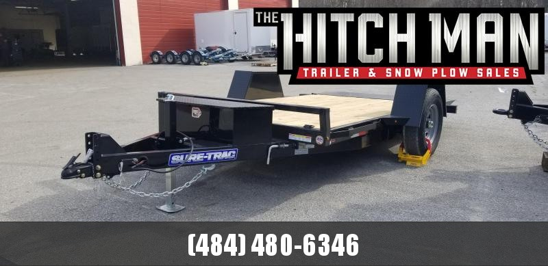 78in x 12 Sure-Trac Single Axle Tilt 7.8k
