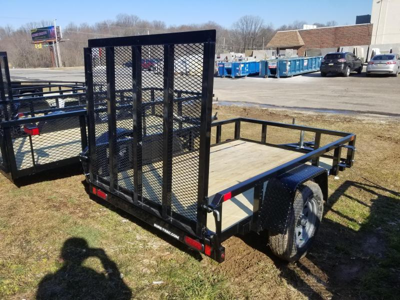 5 x 10 Sure-Trac Tube Top Utility Trailer  3k