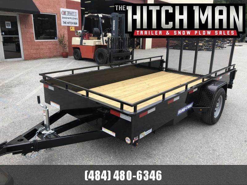 "6 x 12 Sure-Trac 14"" Steel High Side 3k"