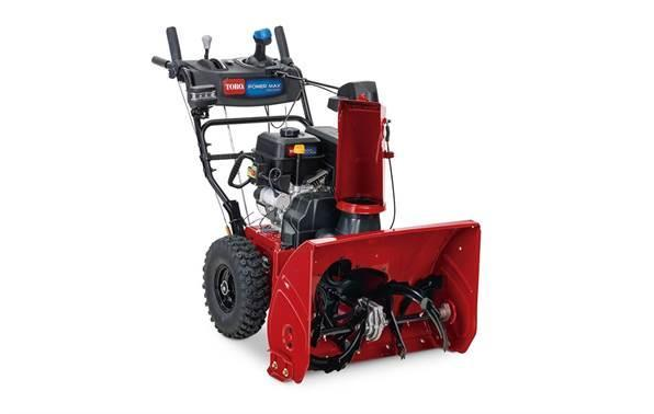 Toro 37805 Power Max 826 OHAE 2-Stage Snow Thrower w/Electric Start, Hand Warmers, & HD Handle