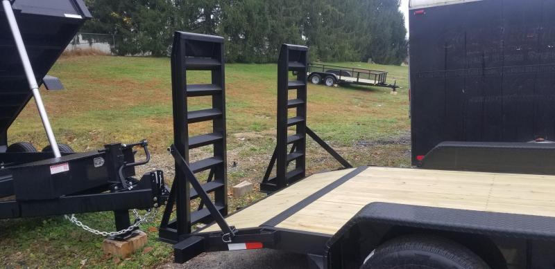 7 x 18 (16+2) Sure-Trac Equipment Trailer 10k