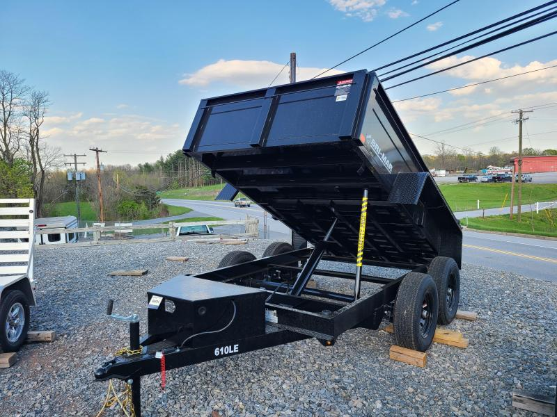 6 x 10 Bri-Mar LE Series Low Profile Dump Trailer, 10K