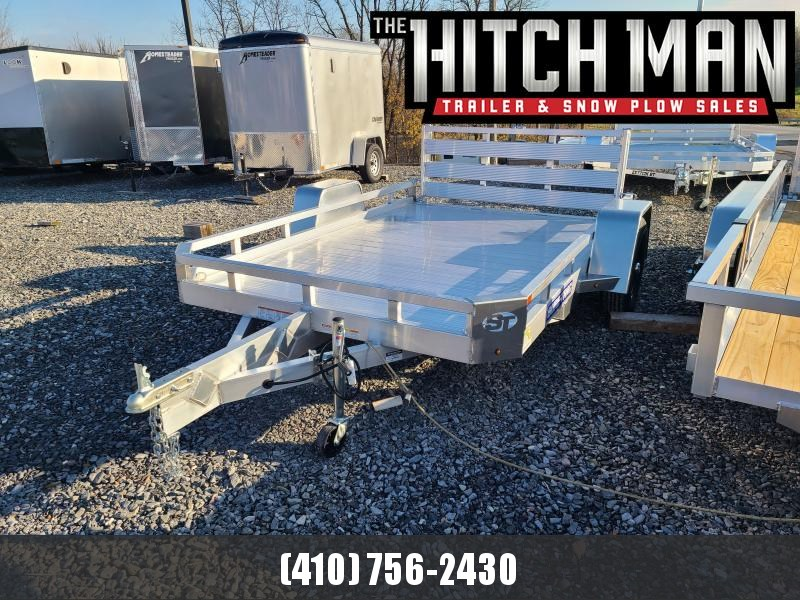 7' x 10' Sure-Trac Aluminum Tube Top Utility Trailer 3K