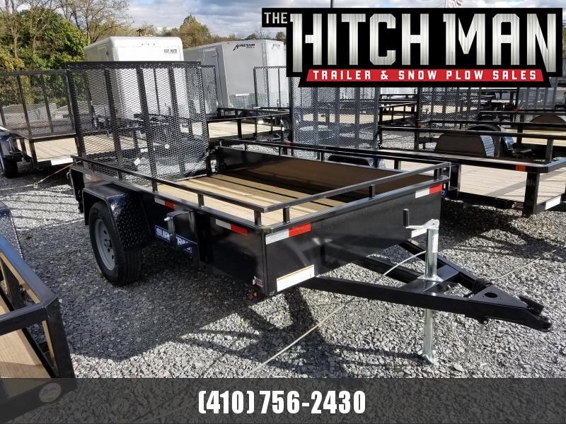 5 x 10 Sure-Trac Steel High Side 3k Utility
