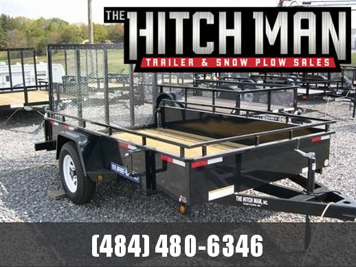 6 x 10 Sure-Trac Steel High Side 3k