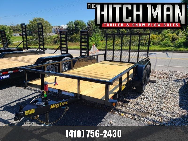 "6'5"" x 14' Big Tex Tandem Axle Utility Trailer 6k"