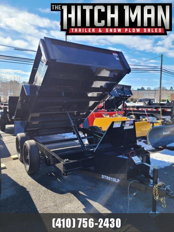 6 x 10 Bri-Mar R-Series Low Profile Dump Trailer, 7K