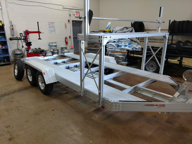 80in x 15 Trailex Aluminum Car Hauler 5k