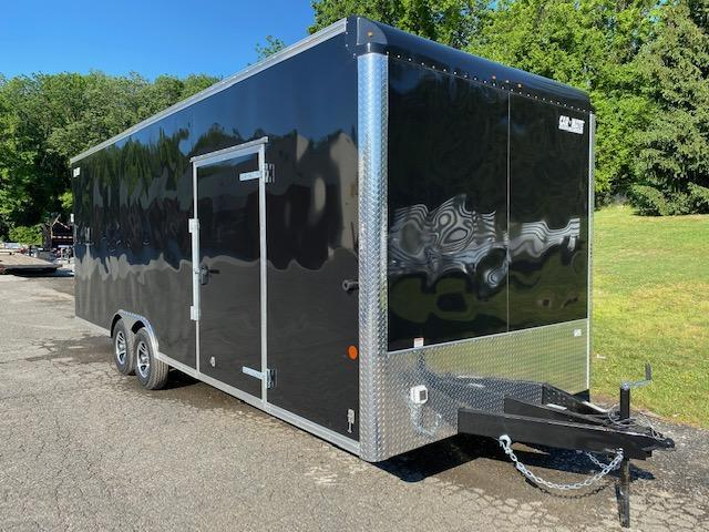 8.5 x 24 Car-Mate Custom Car Hauler Car Racing Trailer 10k