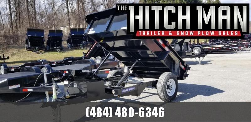 Sure-Trac 5 x 8 Low Profile Homeowner Dump Trailer 5k