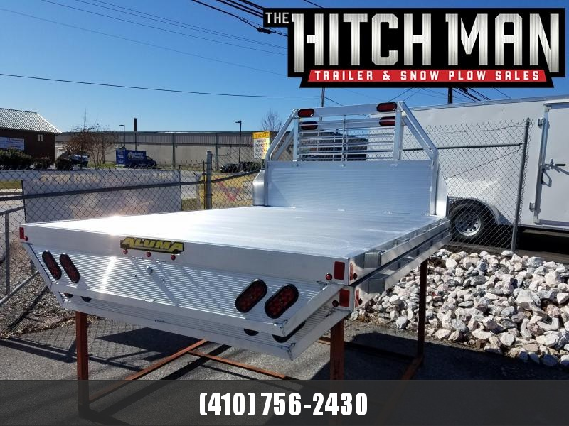 "81"" x 106"" ALUMA Aluminum Truck Bed - Full Size Long Bed Trucks - w/Sides and Tailgate."