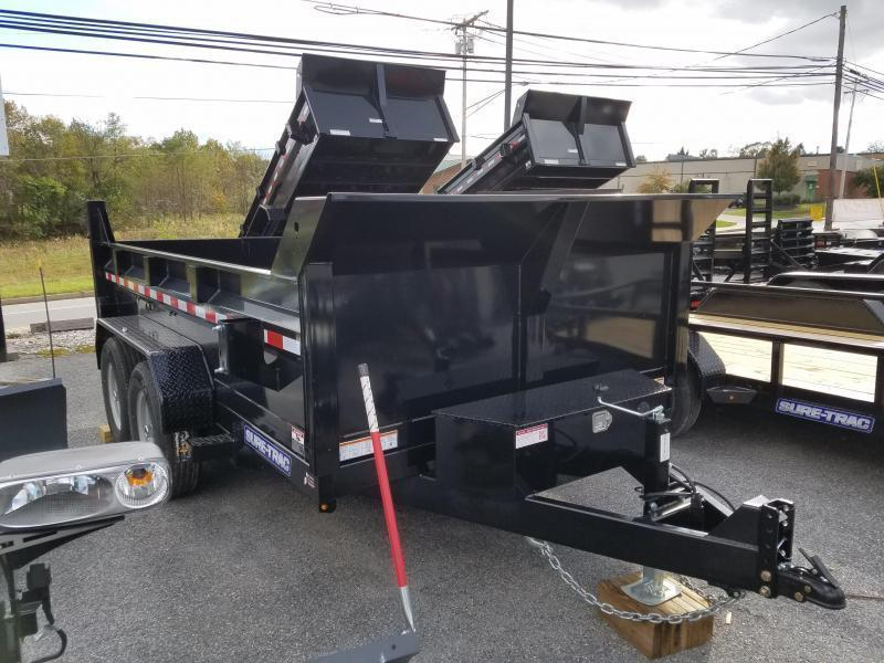 82 x 12 Sure-Trac Telescopic HD Dump Trailer 12k