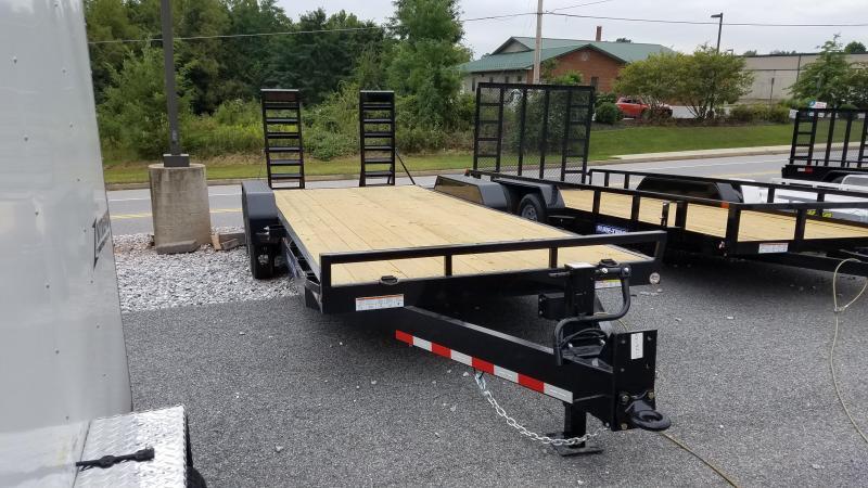 7 x 18 Sure-Trac Implement Equipment Trailer 16K