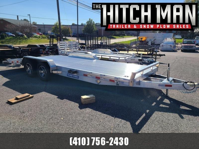 7 x 20 Sure-Trac Aluminum Full Deck Car Hauler 7K
