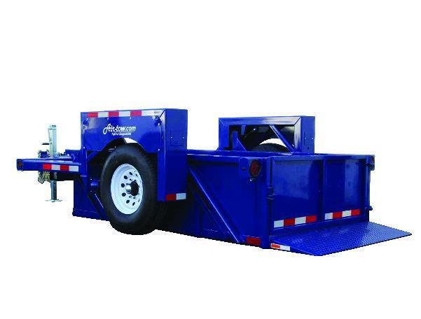 "6'3"" x 10' Air-Tow S10-55 Single Axle Drop Deck Utility 8200k"