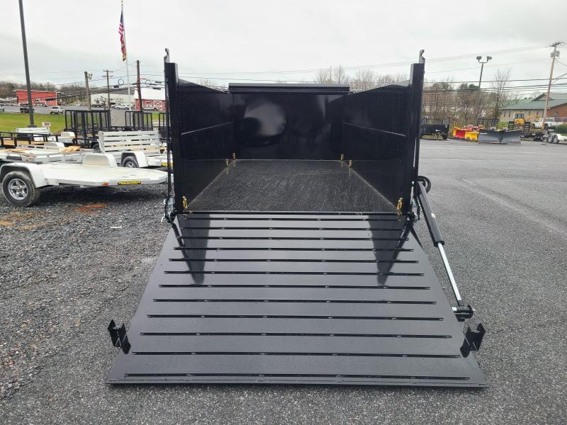 7 X 14 BWISE ULTIMATE Low Pro Dump Trailer, 15.4K