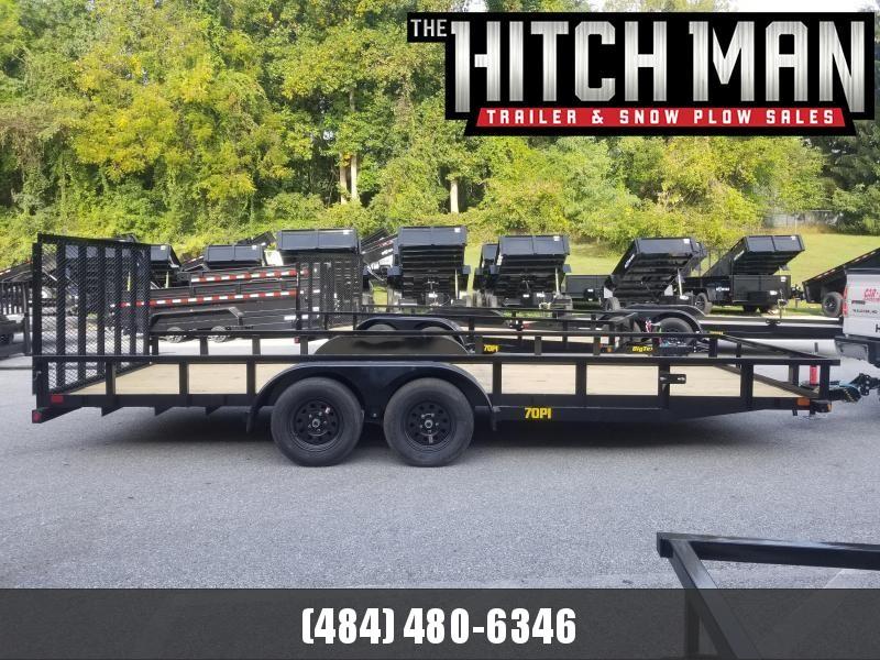 7 x 20 Big Tex Utility 7k