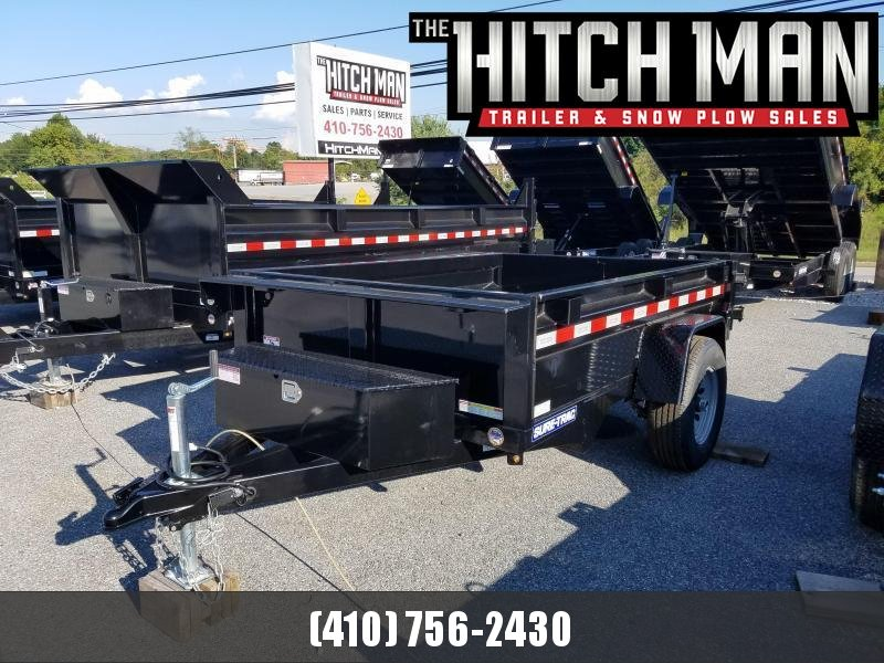 5 x 8 Sure Trac SD Low Pro Dump Trailer 5k