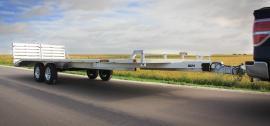 "102"" x 20 Aluma Deckover Landscape/Utility Trailer 7k"