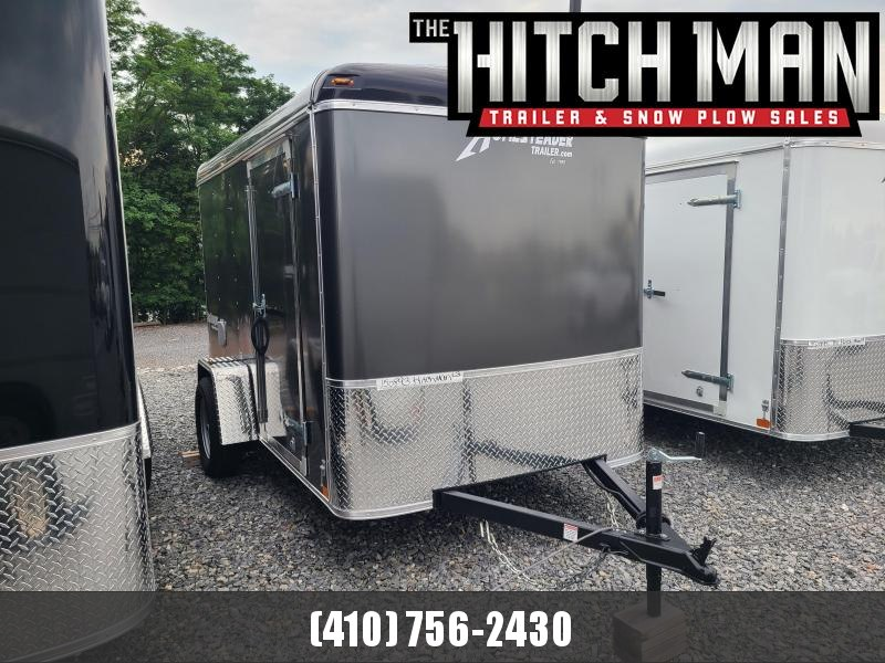 """6 X 10 Homesteader Challenger Cargo 3k  **Charcoal Gray w/6"""" Extra Height"""