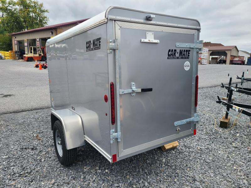 4 x 8.5 Car-Mate Custom Cargo 2k **Silver
