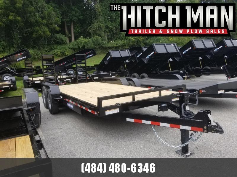 7 x 18 (16+2) Sure-Trac Equipment Trailer  14k