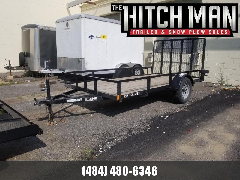 Used 2018 Holmes 6-4x12 Utility Trailer 3k