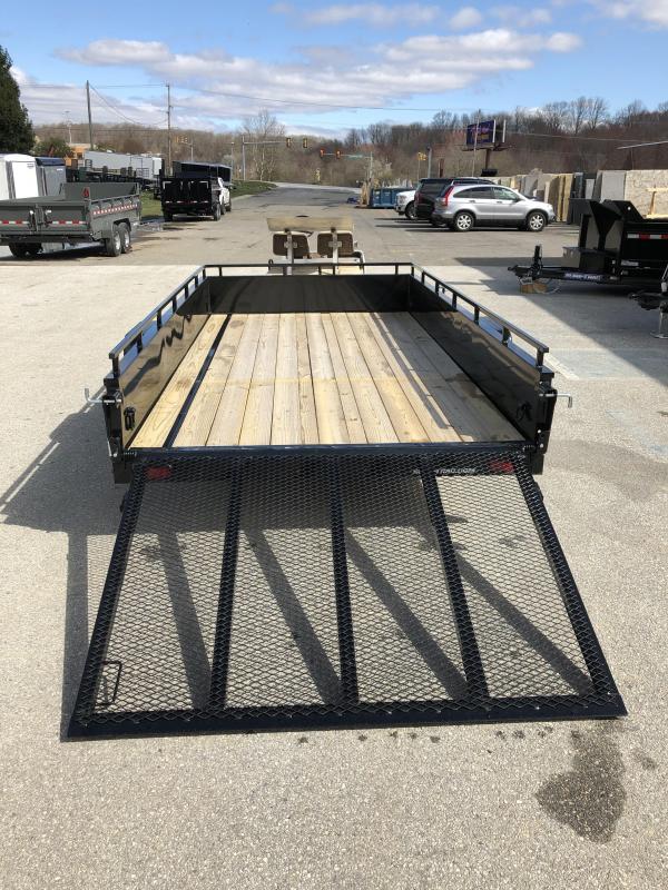 6 x 12 Sure-Trac Steel High Side  3k