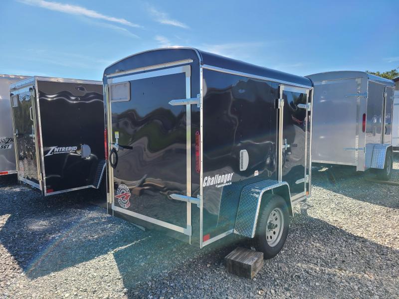 5 X 8 Homesteader Challenger Cargo 3k  ***Black w/ Swing door package.