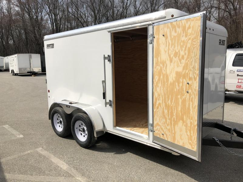2021 Car Mate Trailers 7 x 12 Enclosed Cargo Trailer