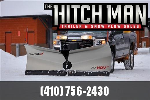 SnowEx Heavy Duty Stainless Steel V-Plow (HDV-SS)