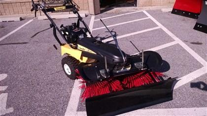 "SnowEx SS-4000 40"" Walk-Behind Snow Broom Plow"