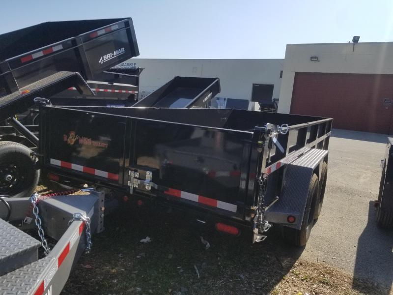 7 x 16 BWISE Scissor Hoist Dump 15.4k