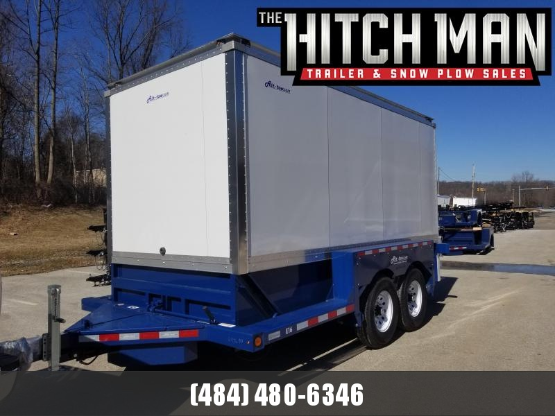 "8.5  x 14'3"" Air-Tow E16 Enclosed Cargo Trailer 14k"