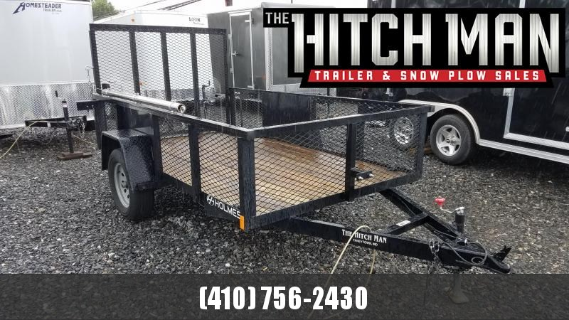 2018 Used Holmes 5.5 X 10 Commercial Utility Trailer 3K