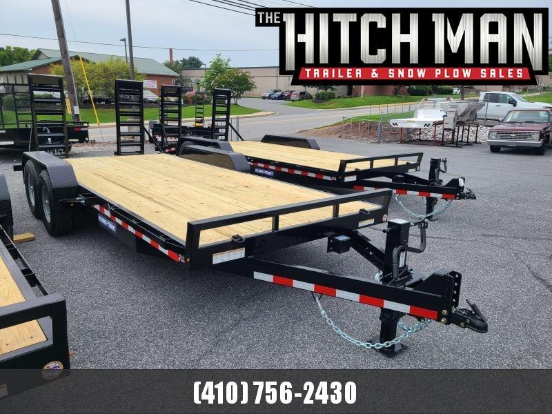 7 x 18 Sure-Trac Implement Equipment Trailer 14K