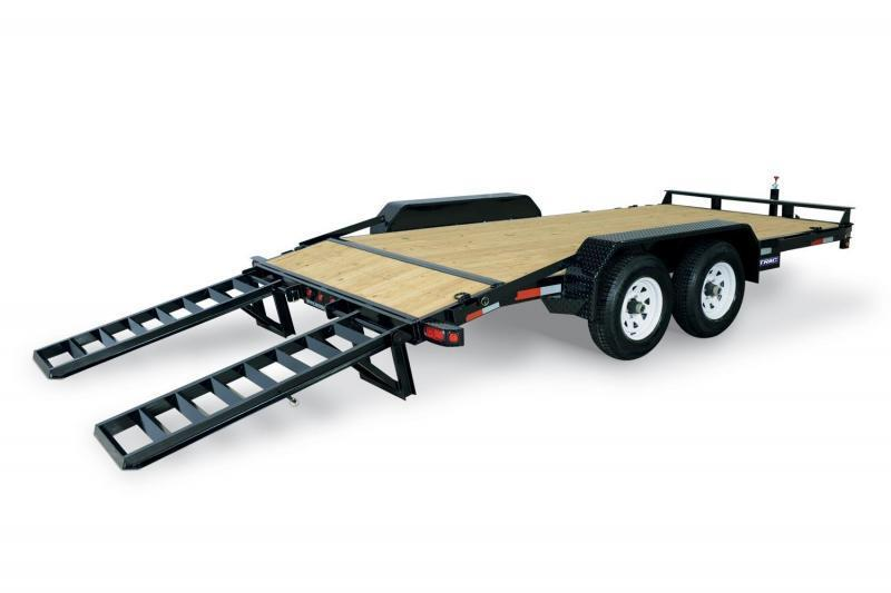 7 x 18 Sure-Trac Implement Equipment Trailer 14K