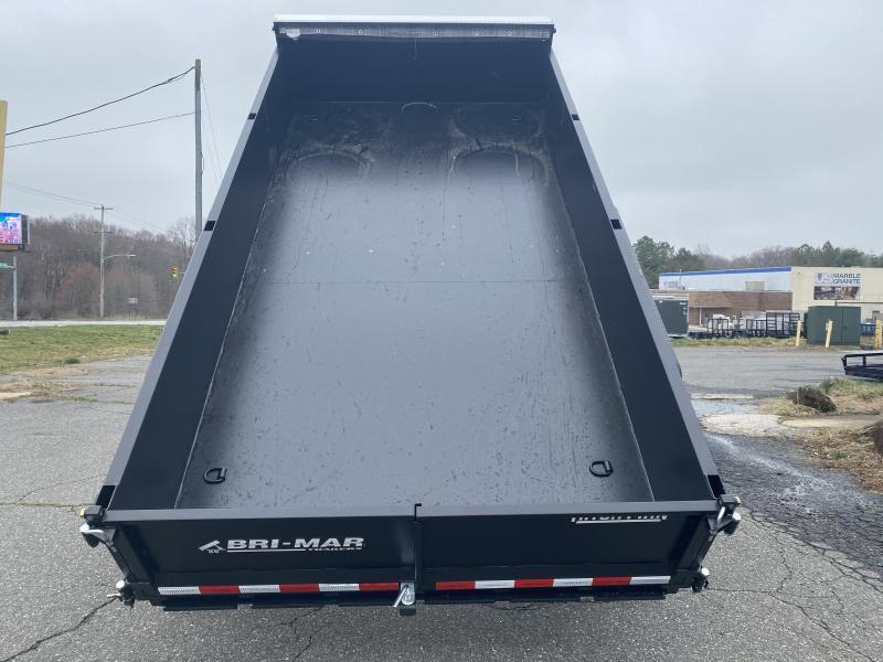 7 x 14 Bri-Mar Low Pro Twin Telescopic Dump 14k