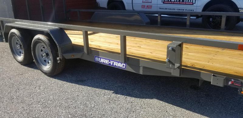 Sure-Trac 7 x 16 Tube Top Utility  7k Tandem