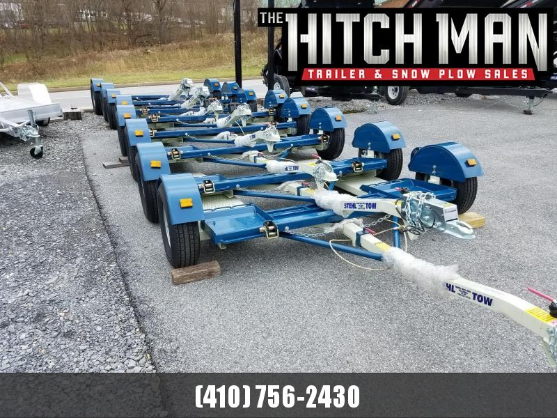 "80"" Stehl Tow 3.5k Tow Dolly w/ Electric Drum Brakes"