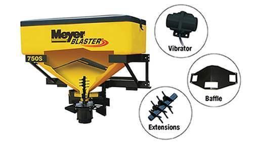 Meyer Blaster Tailgate (6.5cf & 12.8cf)