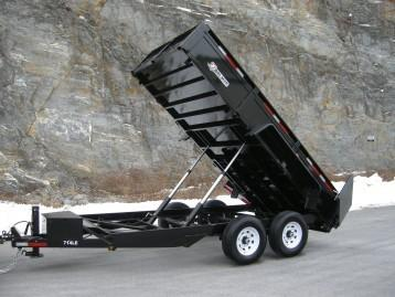 """7 x 14 Bri-Mar Dual Telescopic  Dump (24"""" Mesh) 14k"""