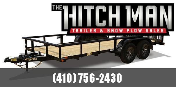 "6'5"" x 16 Big Tex Tandem Axle Utility Trailer 6k"