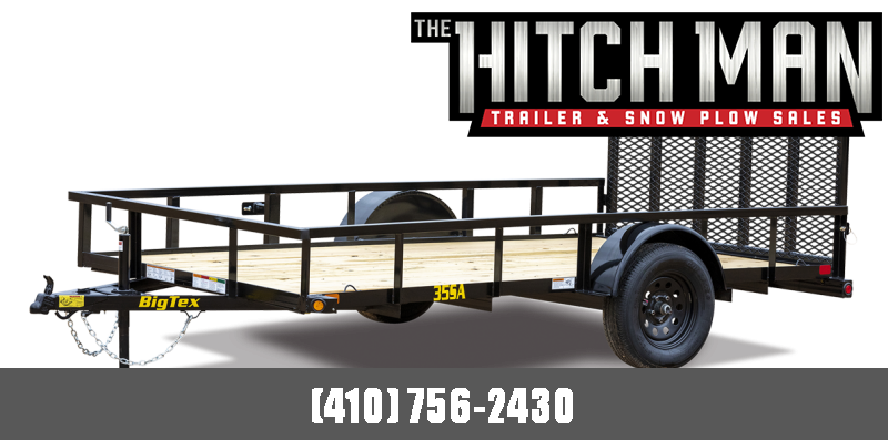 7' x 14' Big Tex Single Axle Utility Trailer 3K